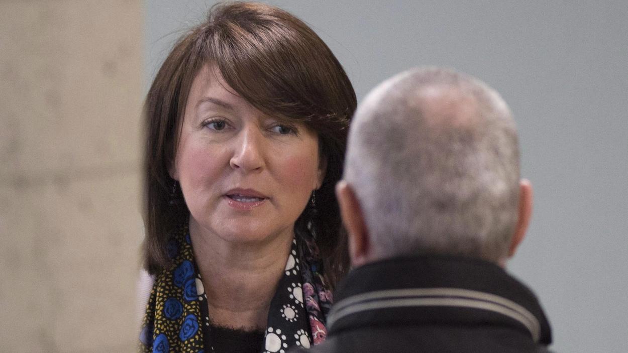 L'ancienne vice-première ministre du Québec, Nathalie Normandeau.