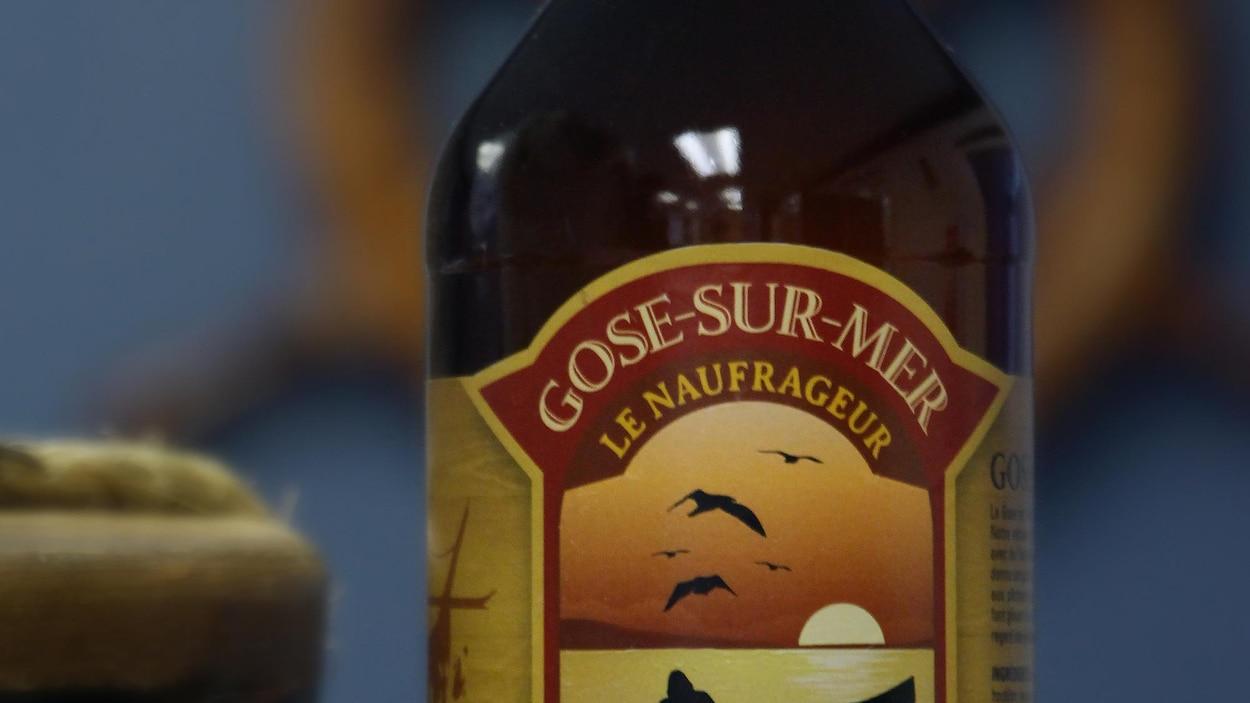 Le Naufrageur, de Carleton-sur-Mer, produit sa toute première bière faite à partir d'eau de mer: la Gose-sur-Mer.