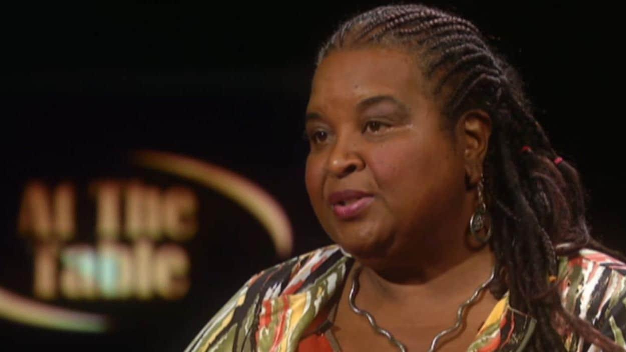 La militante pour les droits de la communauté noire de la Nouvelle-Écosse, Lynn Jones