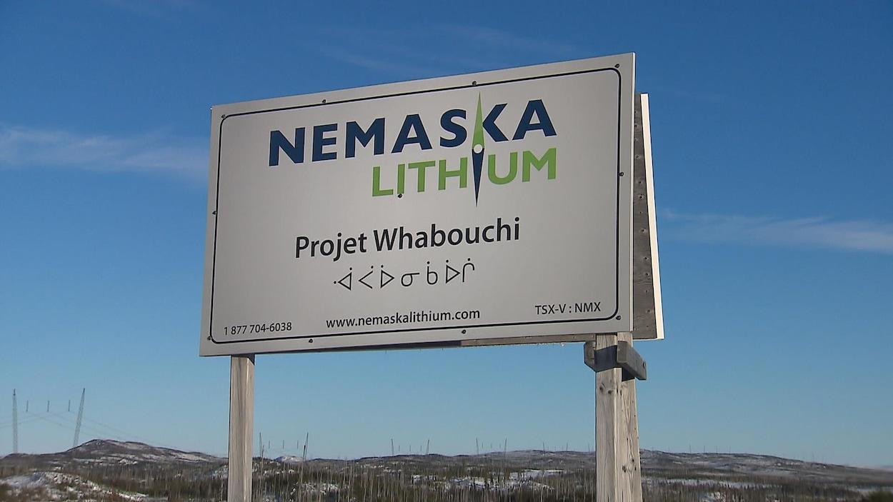 Le projet Whabouchi de Nemaska Lithium