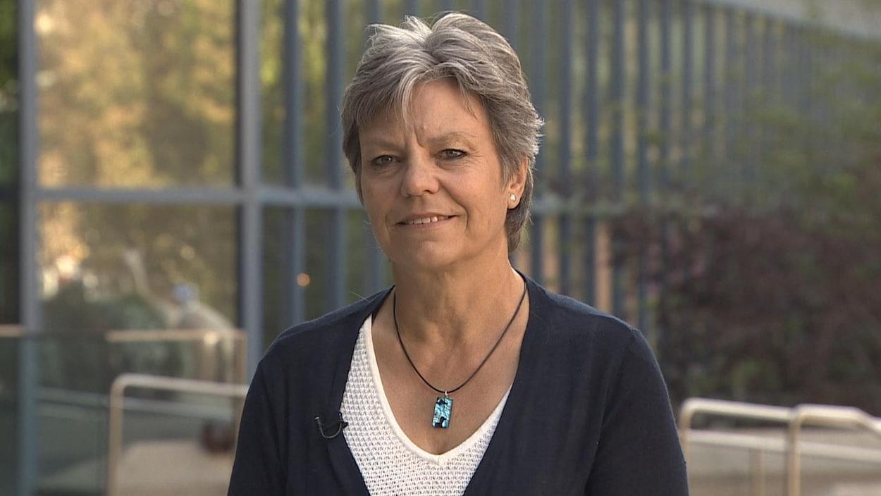 Nicole Buret, présidente de l'ACFA de Calgary