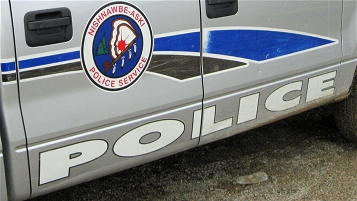 Une voiture patrouille de la police autochtone Nishnawbe Aski