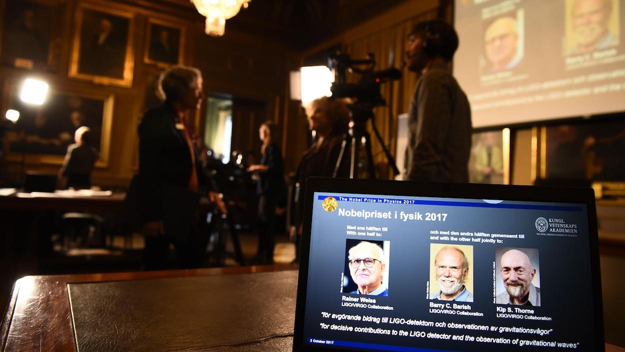 """Résultat de recherche d'images pour """"Prix Nobel de physique 2017, ondes gravitationnelles"""""""