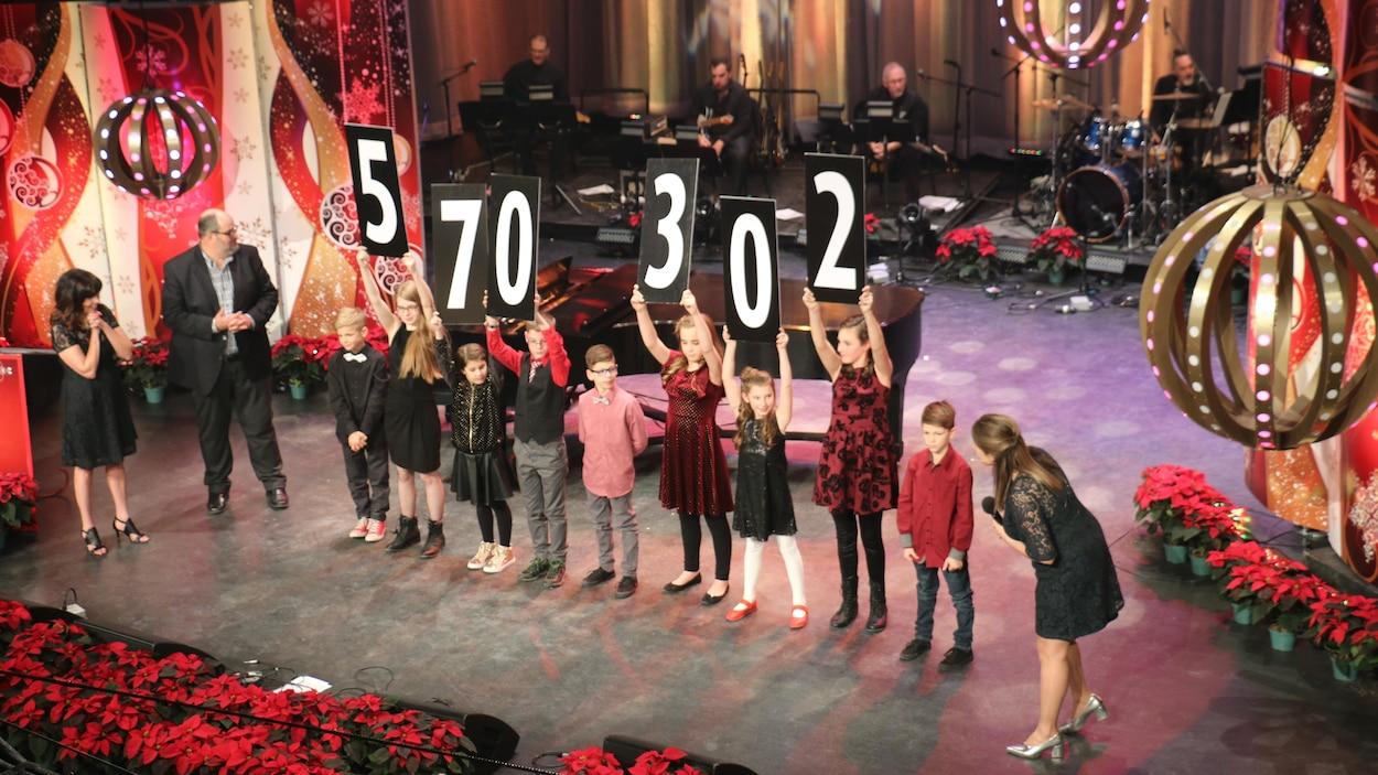 Le 60e Noël du pauvre a permis d'amasser plus d'un demi-million de dollars.
