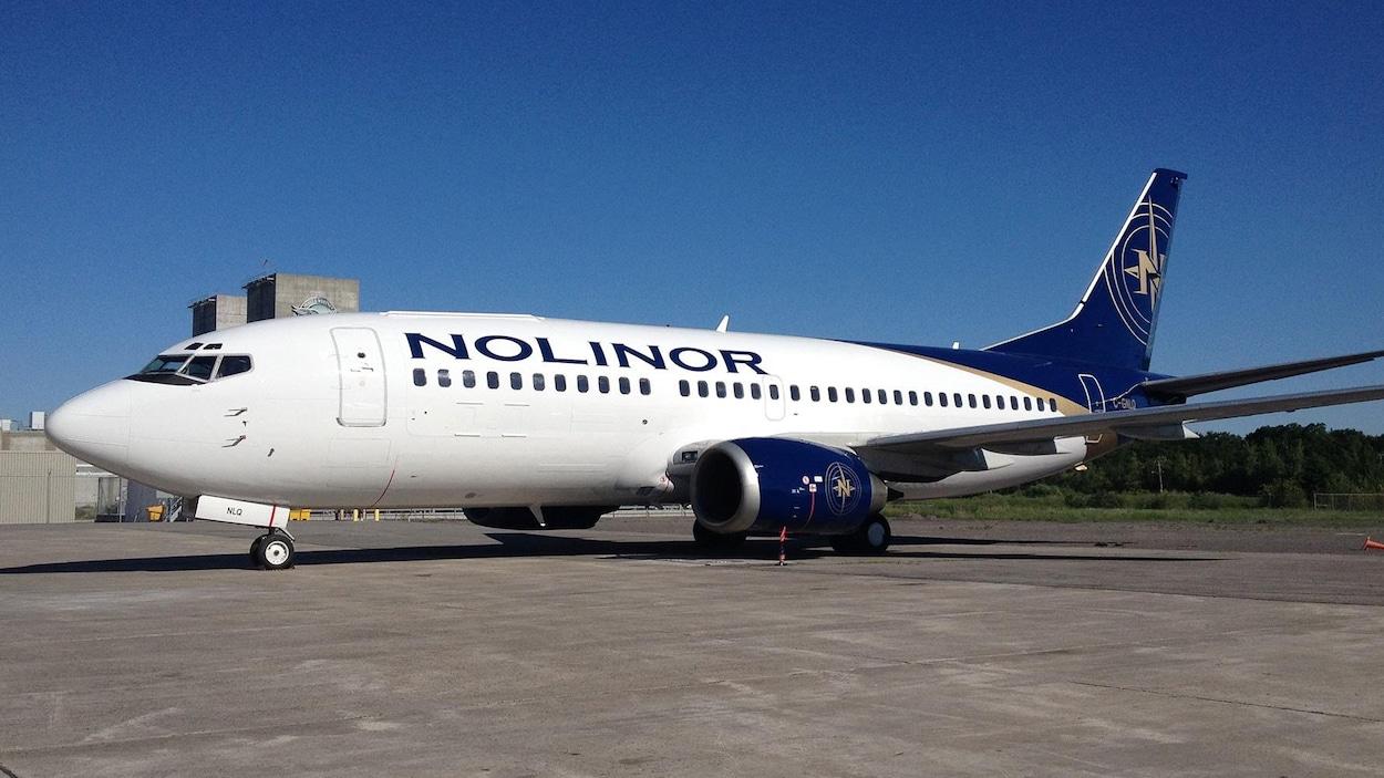 Un avion de Nolinor.