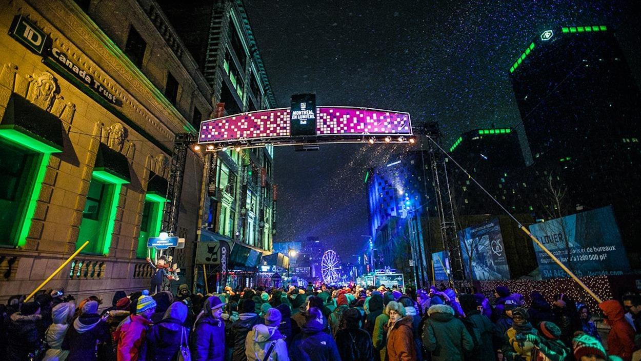 La Nuit blanche à Montréal en lumière