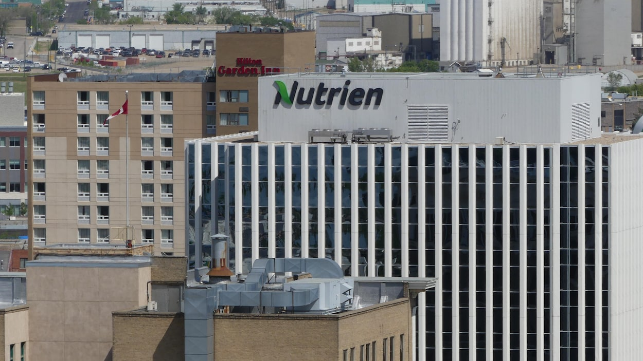L'édifice de Nutrien à Sasktoon