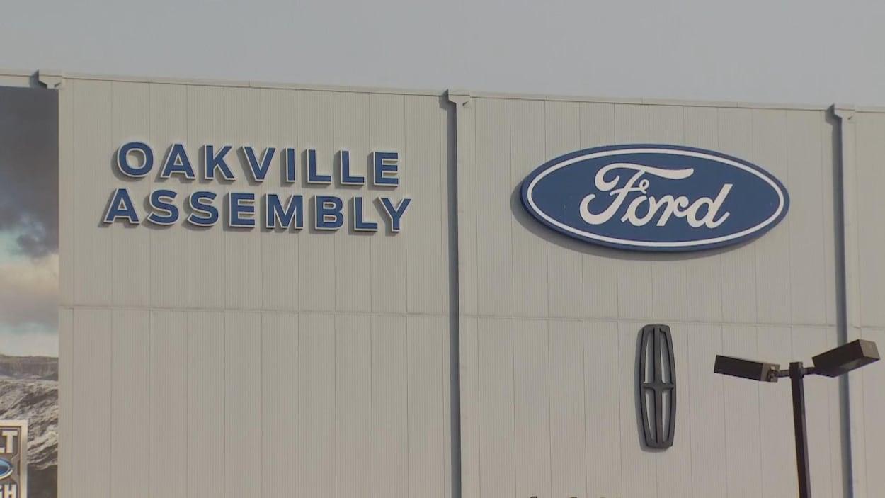 L'usine Ford à Oakville.