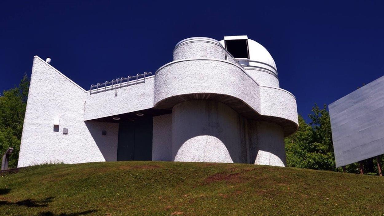 L'Observatoire du Cégep de Trois-Rivières à Champlain.