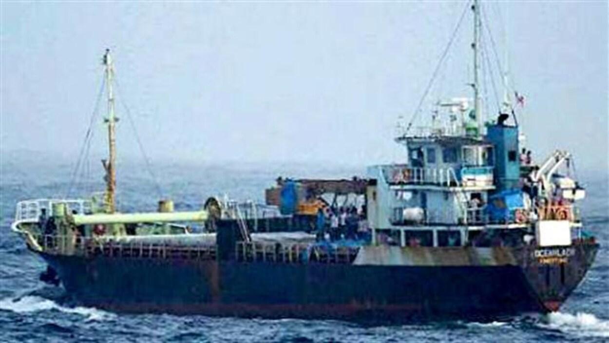 Le navire Ocean Lady a été intercepté par les autorités canadiennes en 2009.