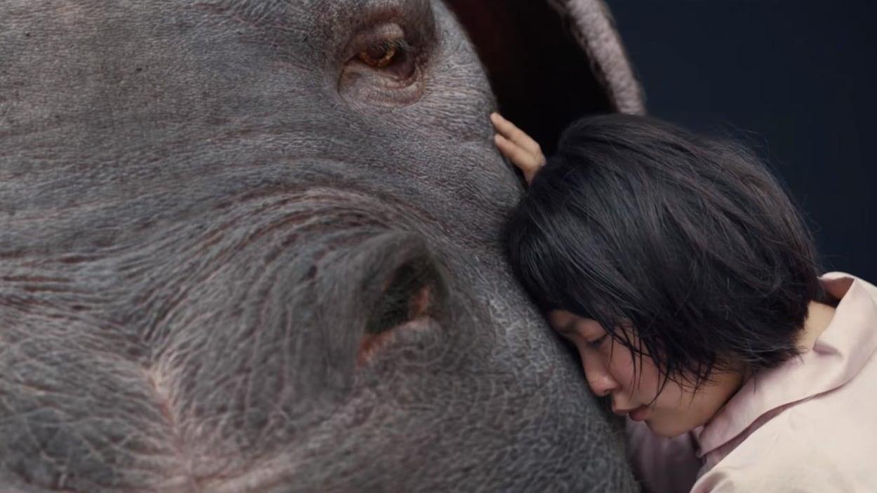 Une scène du film «Okja».