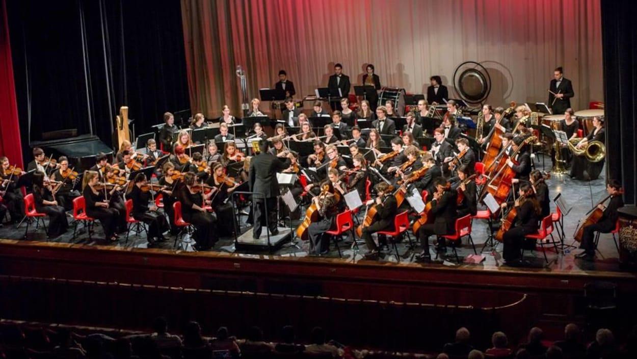 L'Orchestre des jeunes du N.-B. sur scène