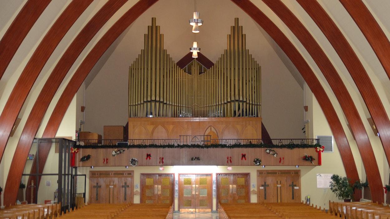Orgue, église Saint-Sauveur, Val-d'Or