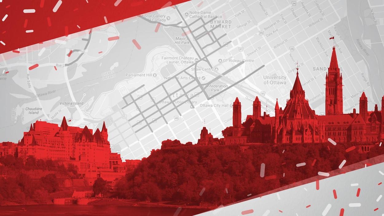 Plusieurs rues seront fermées à Ottawa lors de la fête du premier juillet.