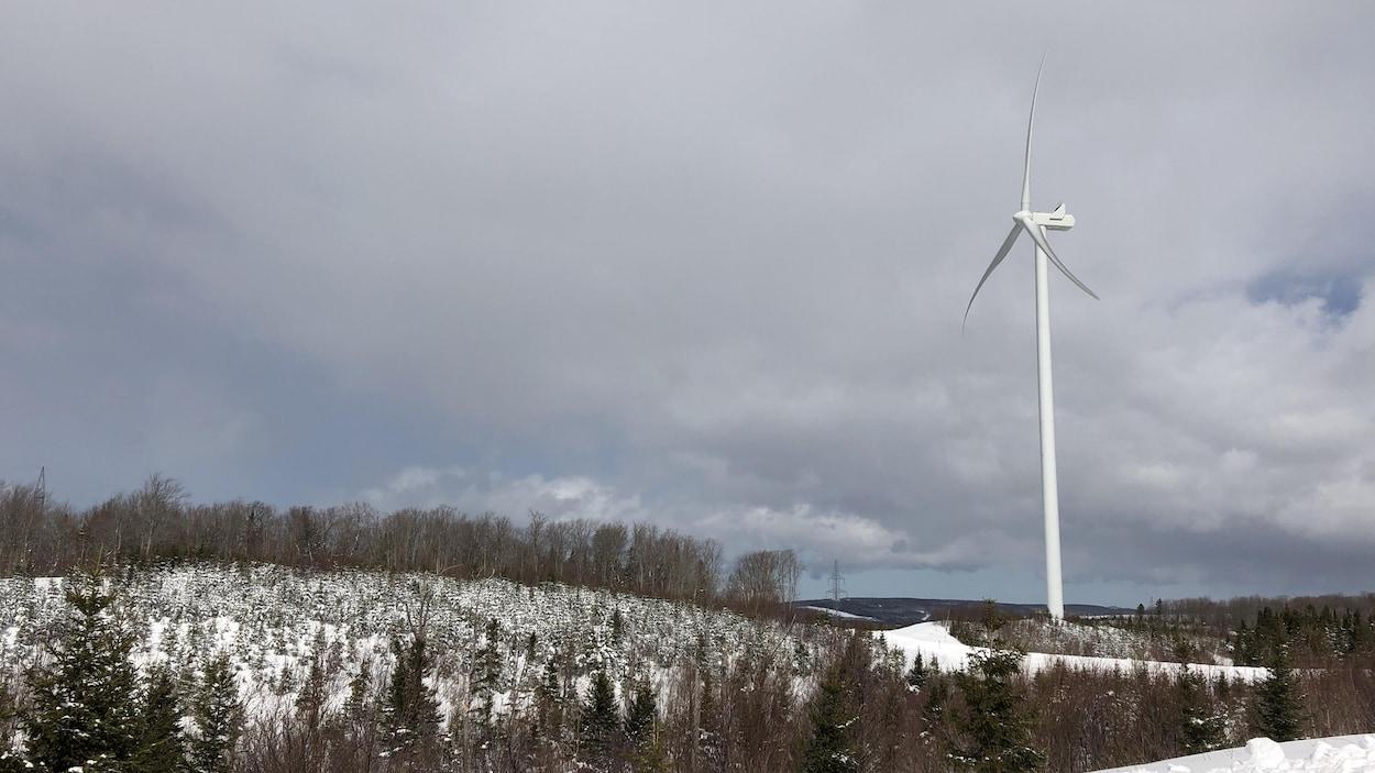 Une éolienne de Nicolas-Riou