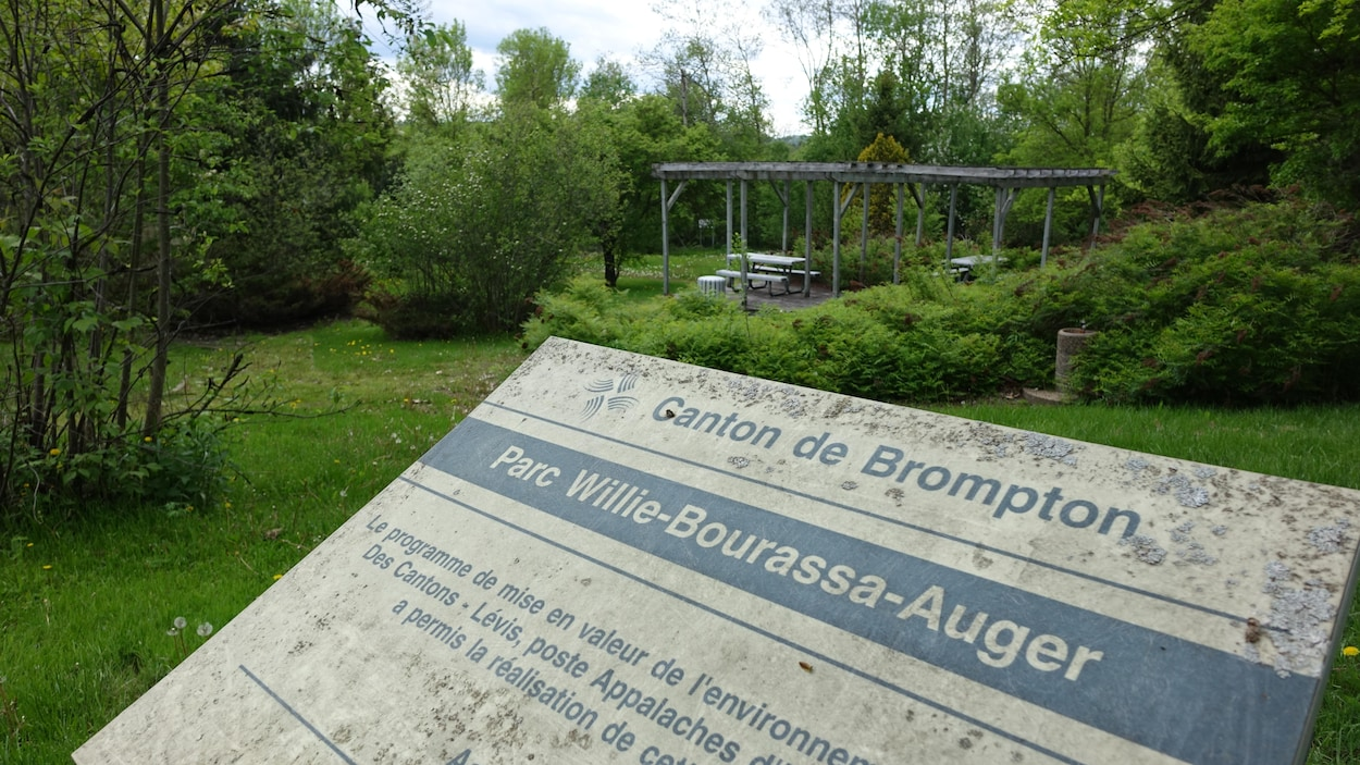 Le parc Willie-Bourassa-Auger.