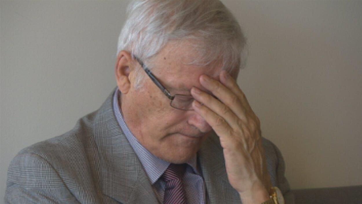 L'ex-abbé Paul-André Harvey
