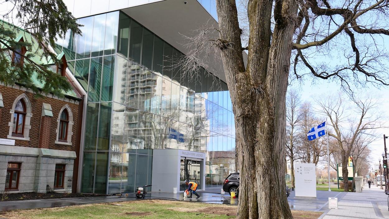 Le pavillon Pierre-Lassonde du Musée national des beaux-arts du Québec à Québec.