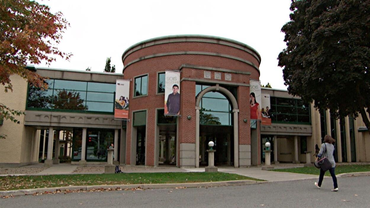 Le campus Alexandre-Taché de l'Université du Québec en Outaouais (UQO), à Gatineau. (sept 2014)