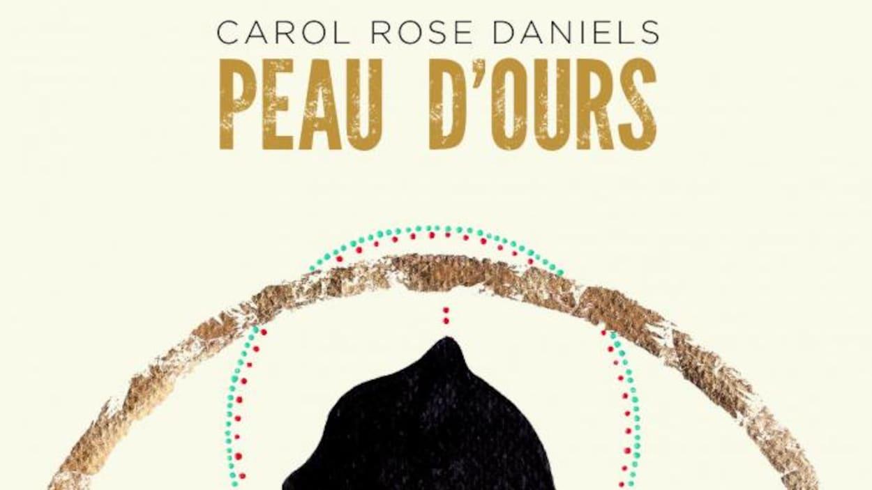 La page couverture du roman Peau d'ours présentant l'ombre d'un ours