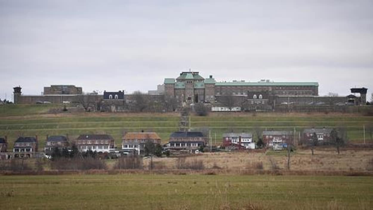 Le pénitencier de Dorchester au Nouveau-Brunswick, situé au sud de Moncton.