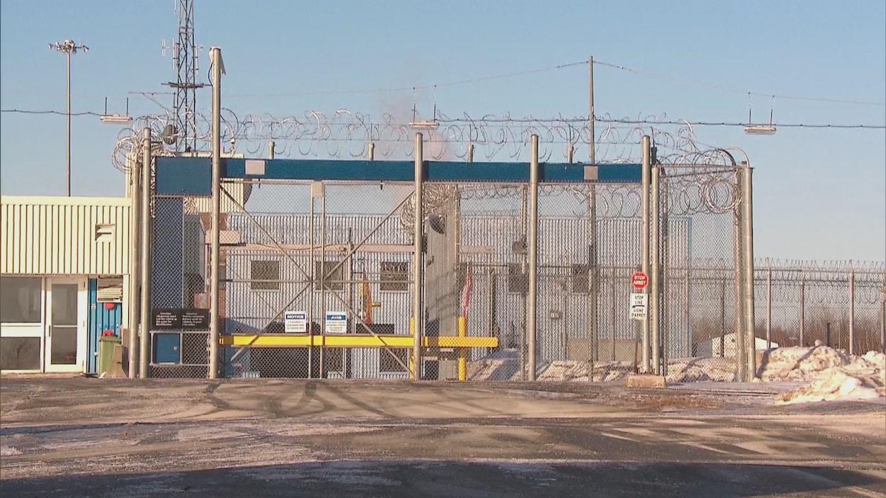 Entrée du pénitencier à sécurité maximale situé à Renous