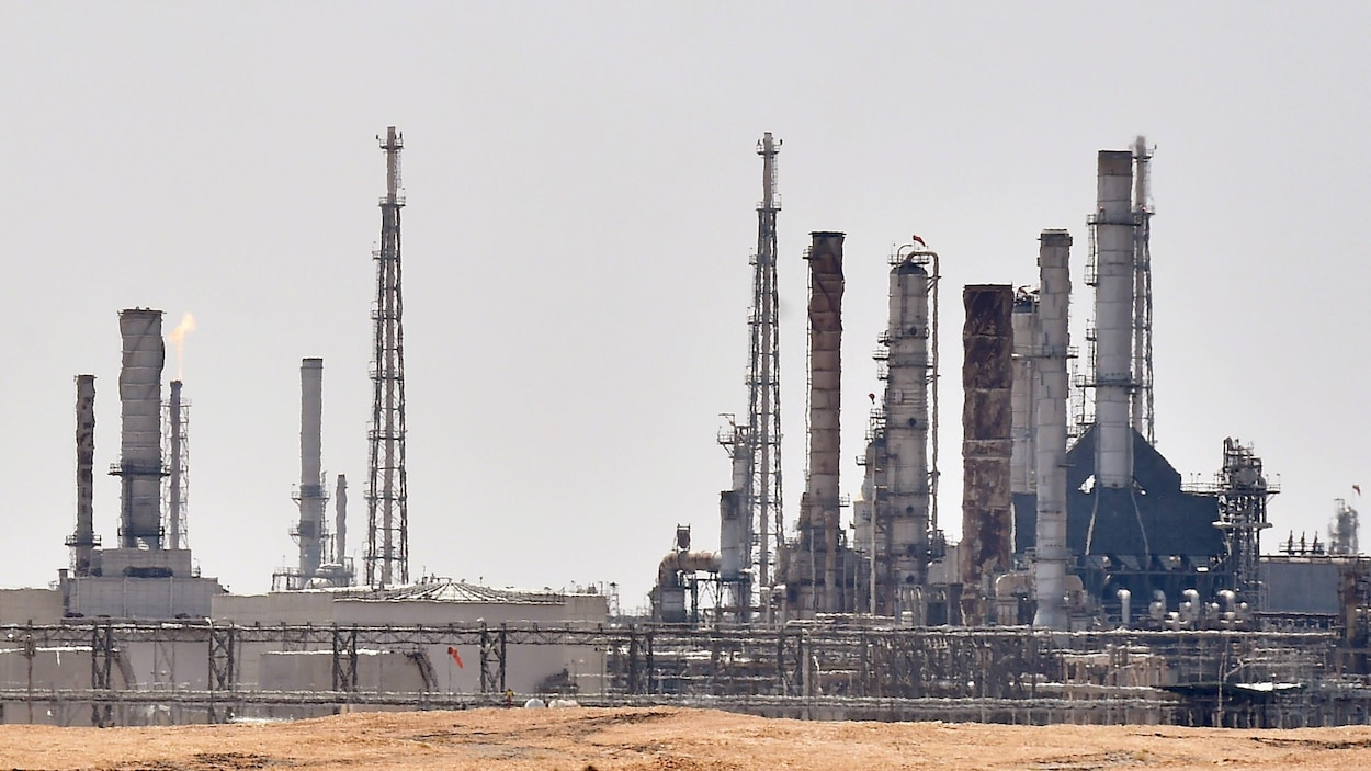 Emplacement d'usines pétrolières