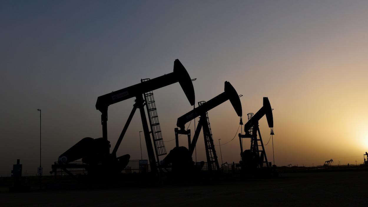Des puits de pétrole au Texas.