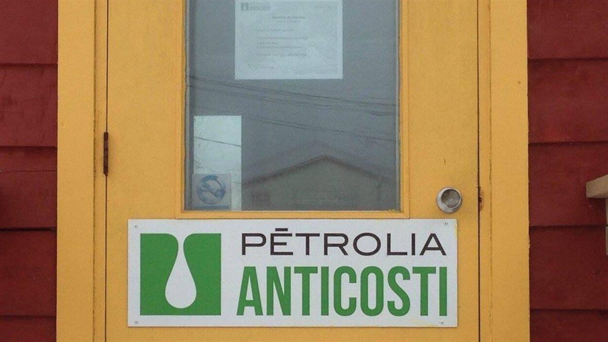Une partie des installations de Pétrolia à Anticosti