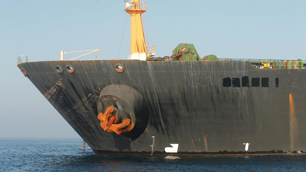 Washington lance un mandat pour saisir un pétrolier iranien relâché par Gibraltar