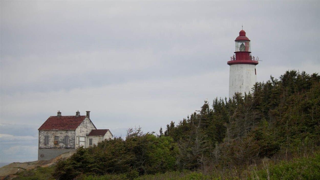 L'île Bicquette et son phare