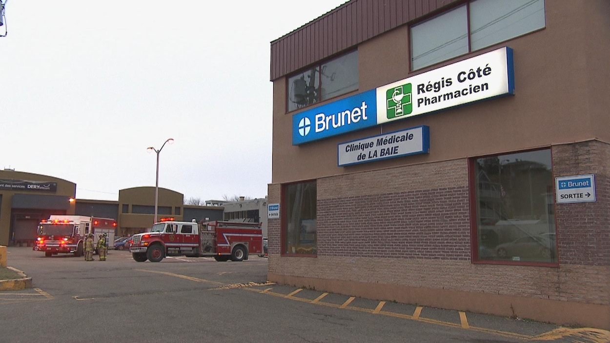 La façade de la pharmacie Brunet