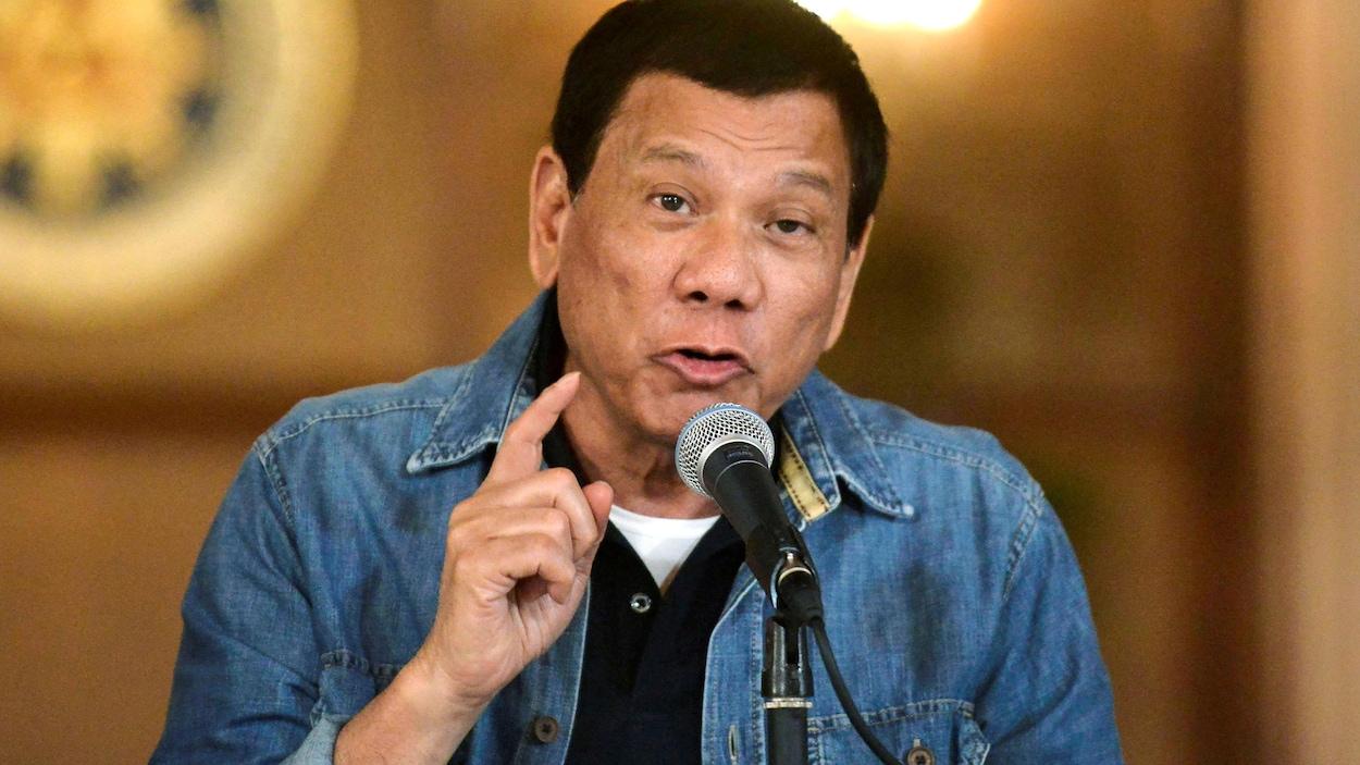 Le président philippin, Rodrigo Duterte.