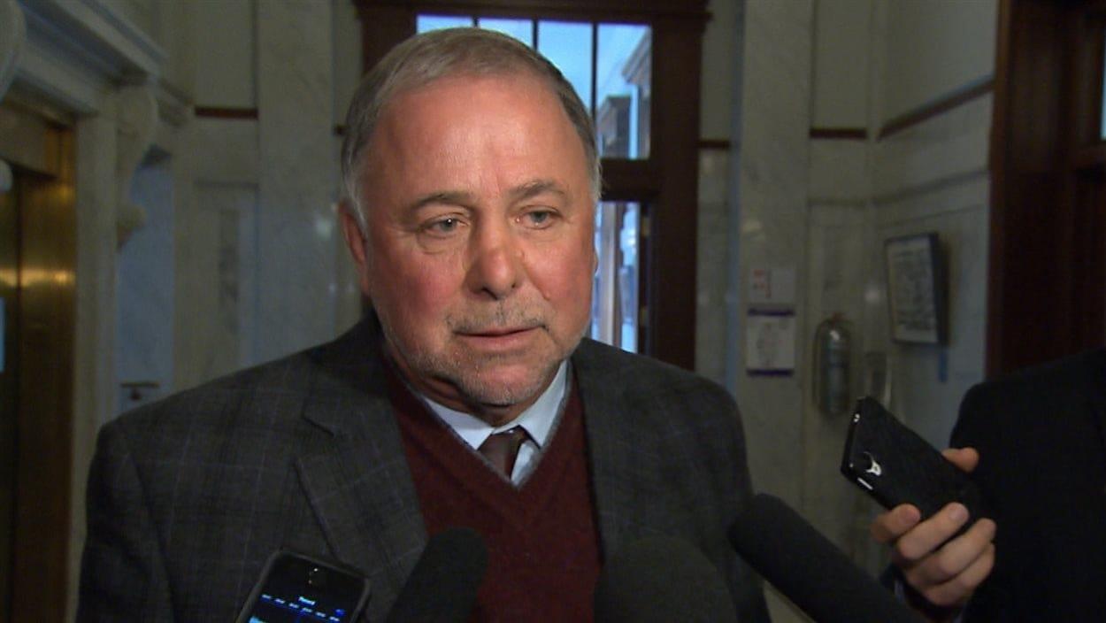 Le ministre de l'Agriculture du Québec, Pierre Paradis