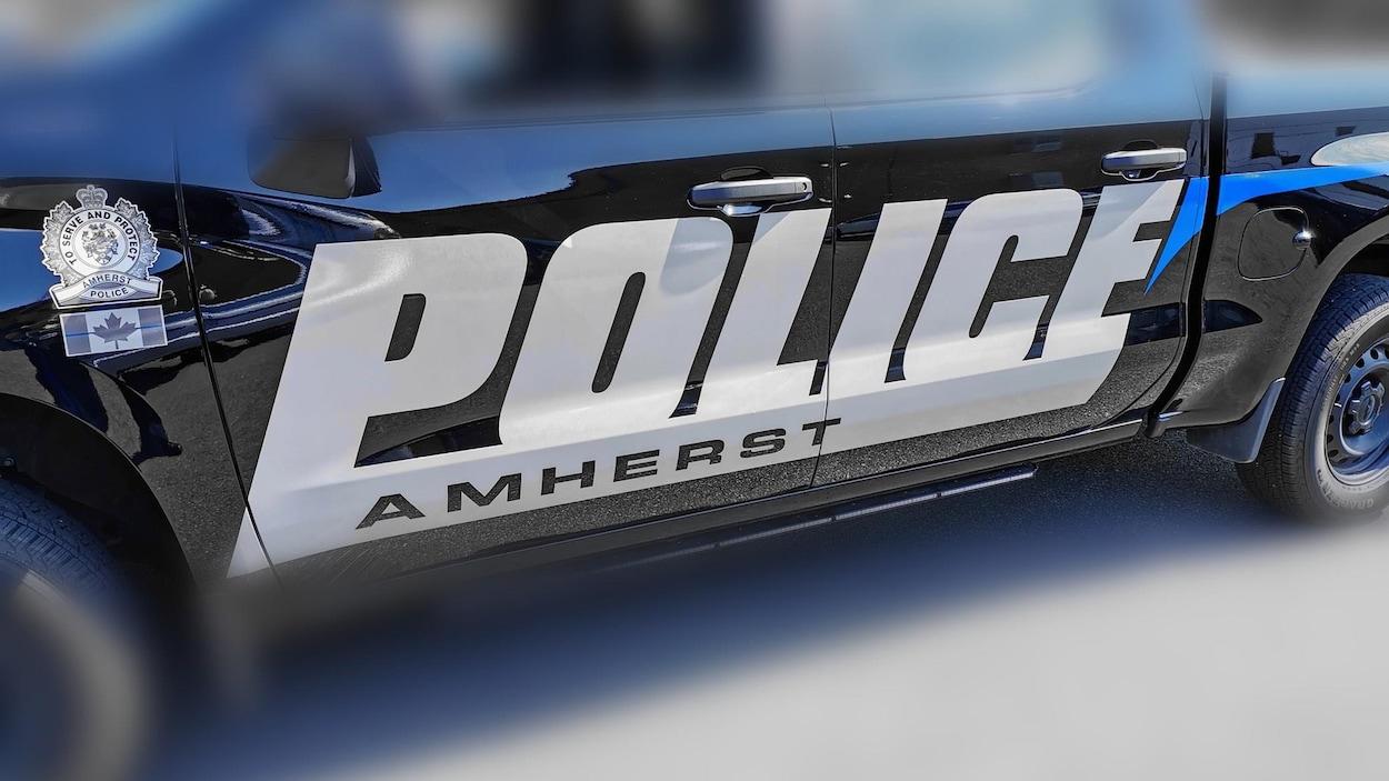 Une voiture de police de Amherst.