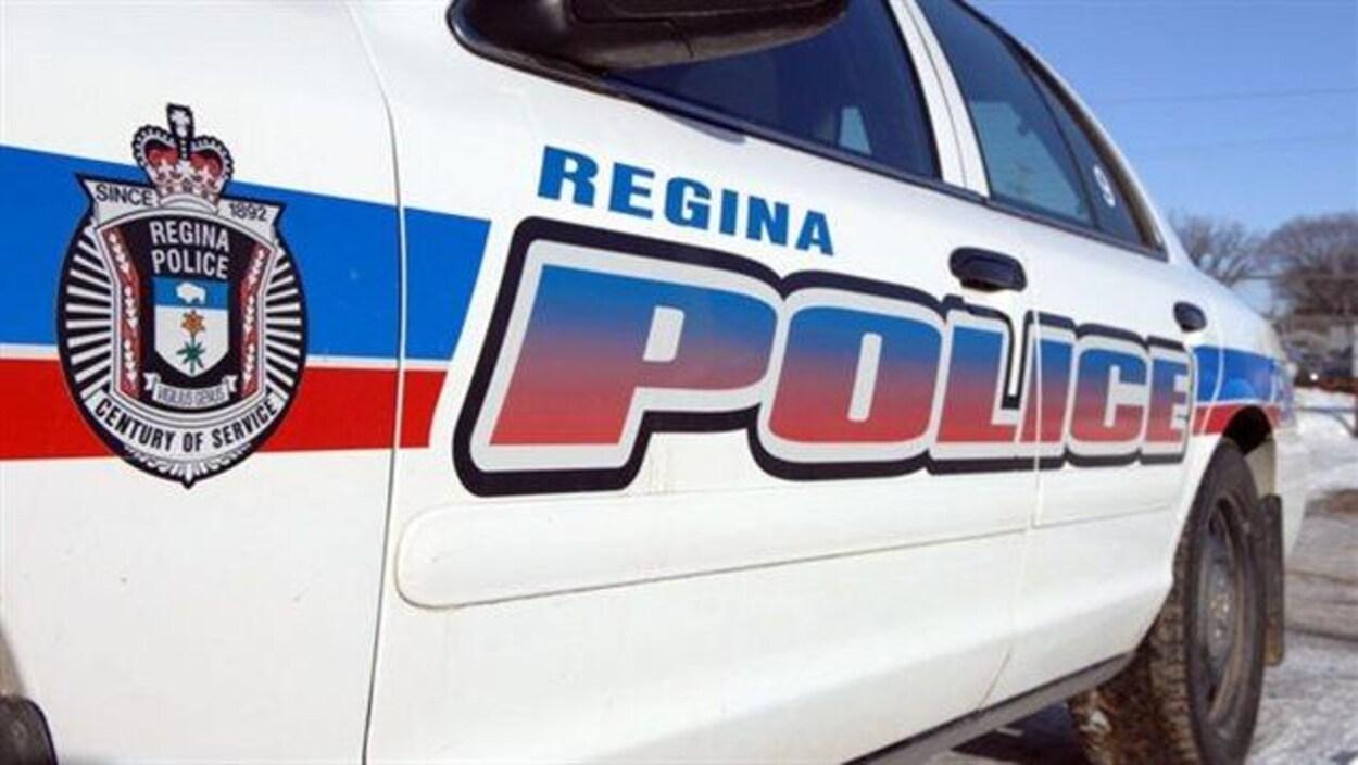 Une voiture de police de la ville de Regina