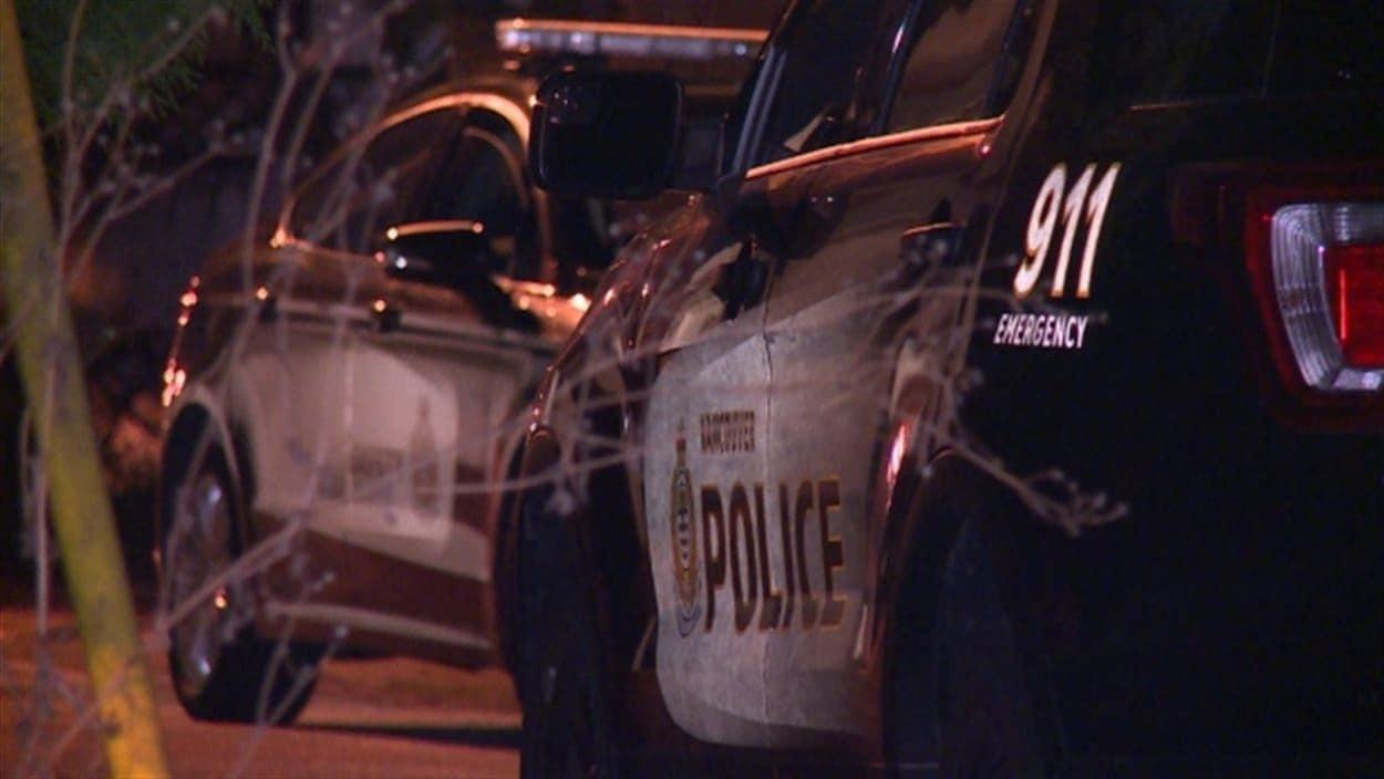 Une voiture de police de Vancouver