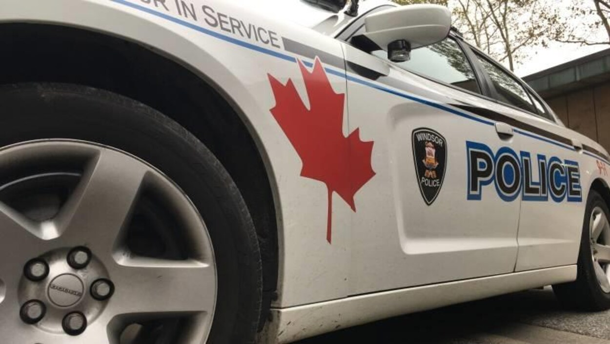 une voiture de police de Windsor