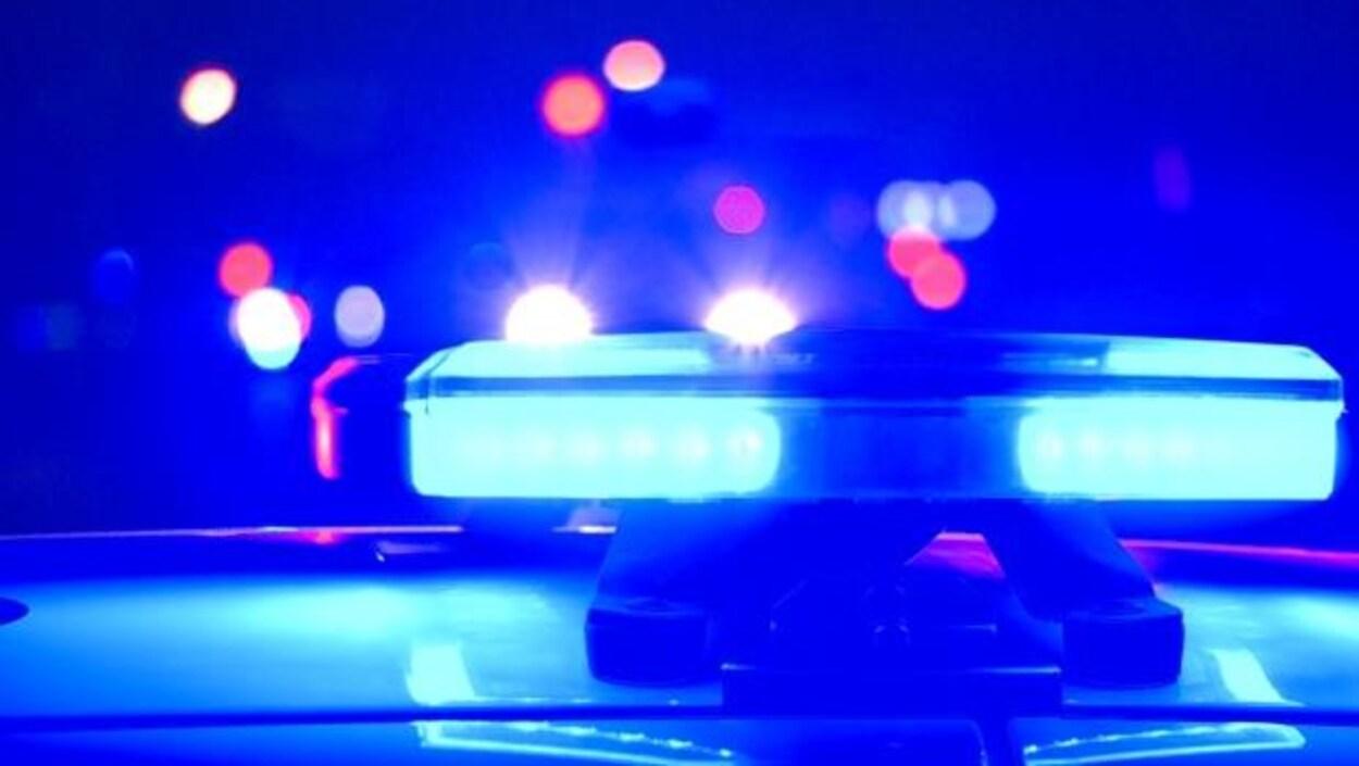La GRC indique que l'accident aurait été causé par un chauffard ivre.