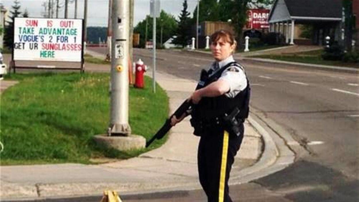 Les policiers sur le qui-vive à Moncton