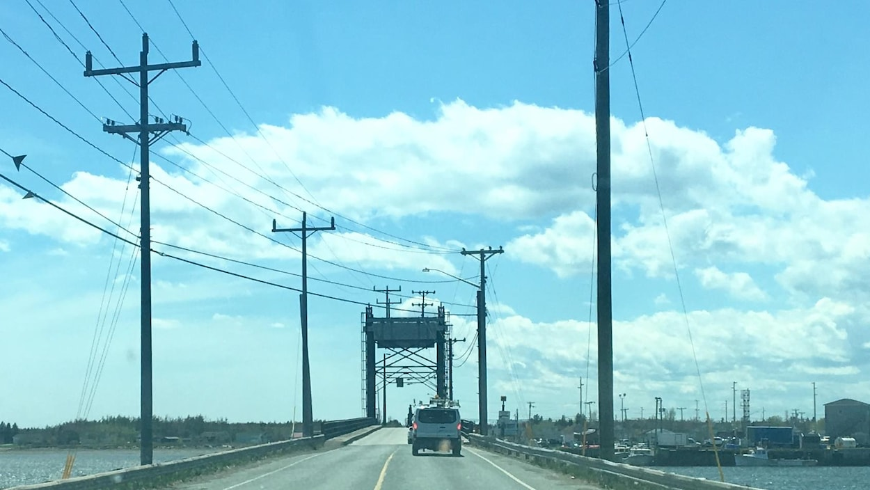 Le pont Lamèque-Shippagan.
