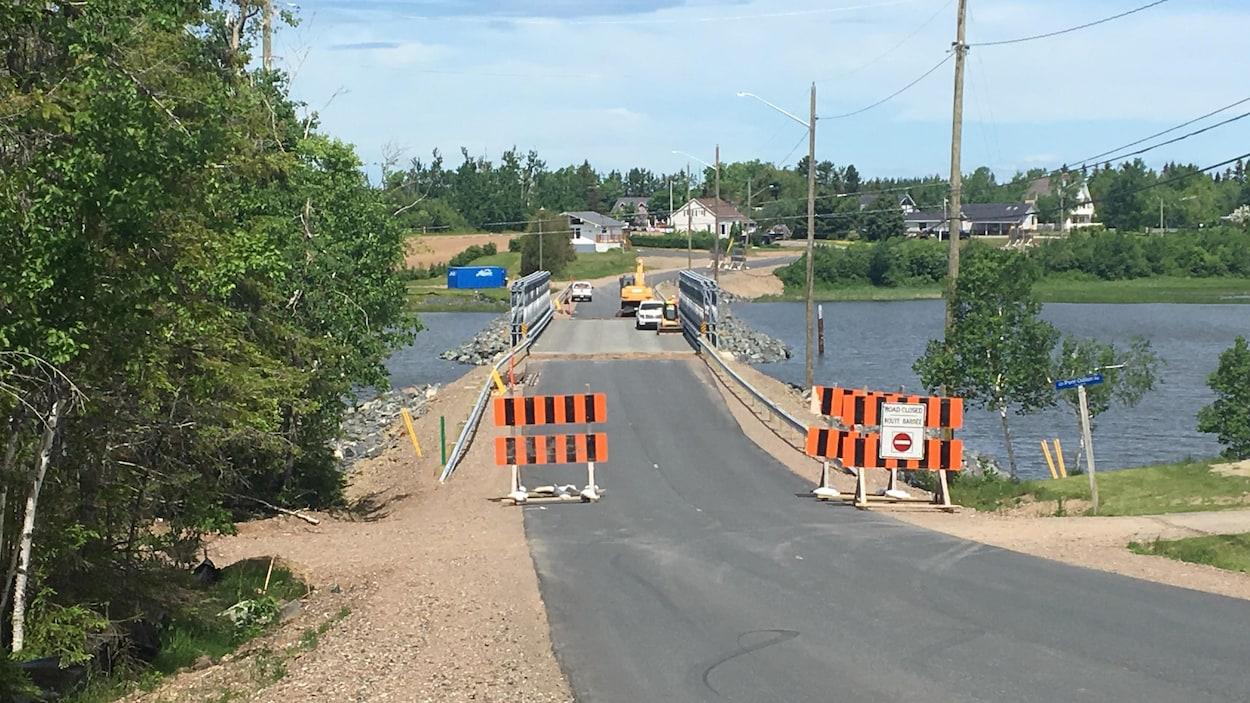 Le nouveau pont Odilon, à Tracadie, sera fermé à la circulation pendant six semaines