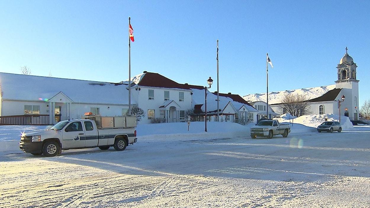 La mairie de Port-Cartier