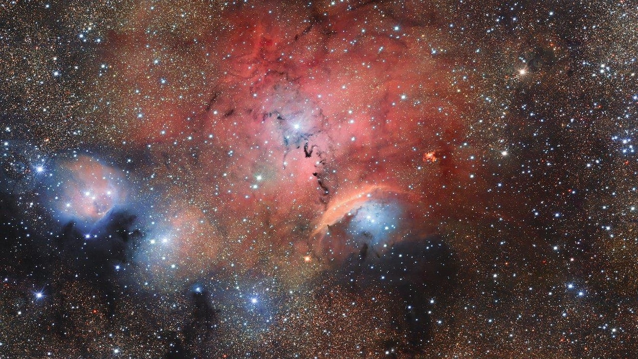 La pouponnière d'étoiles Sharpless 29