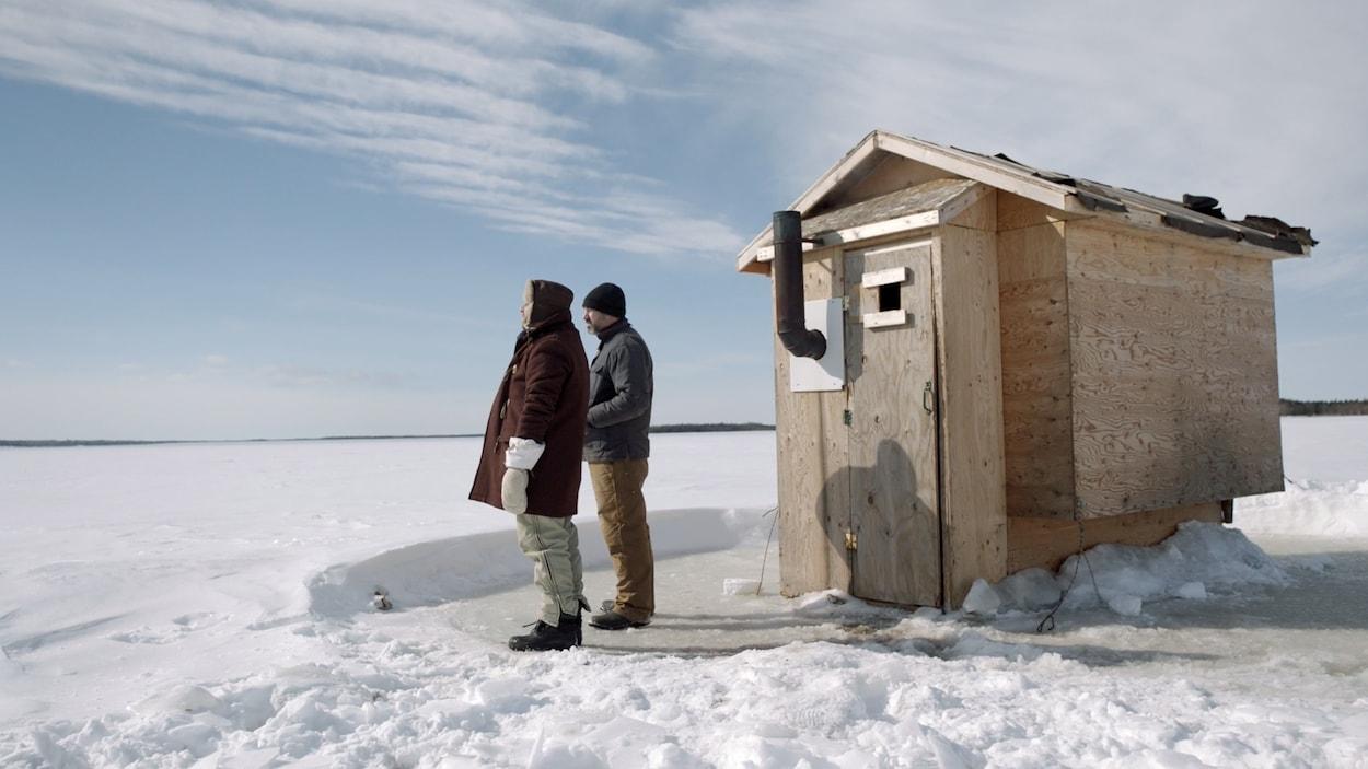 scène d'hiver.