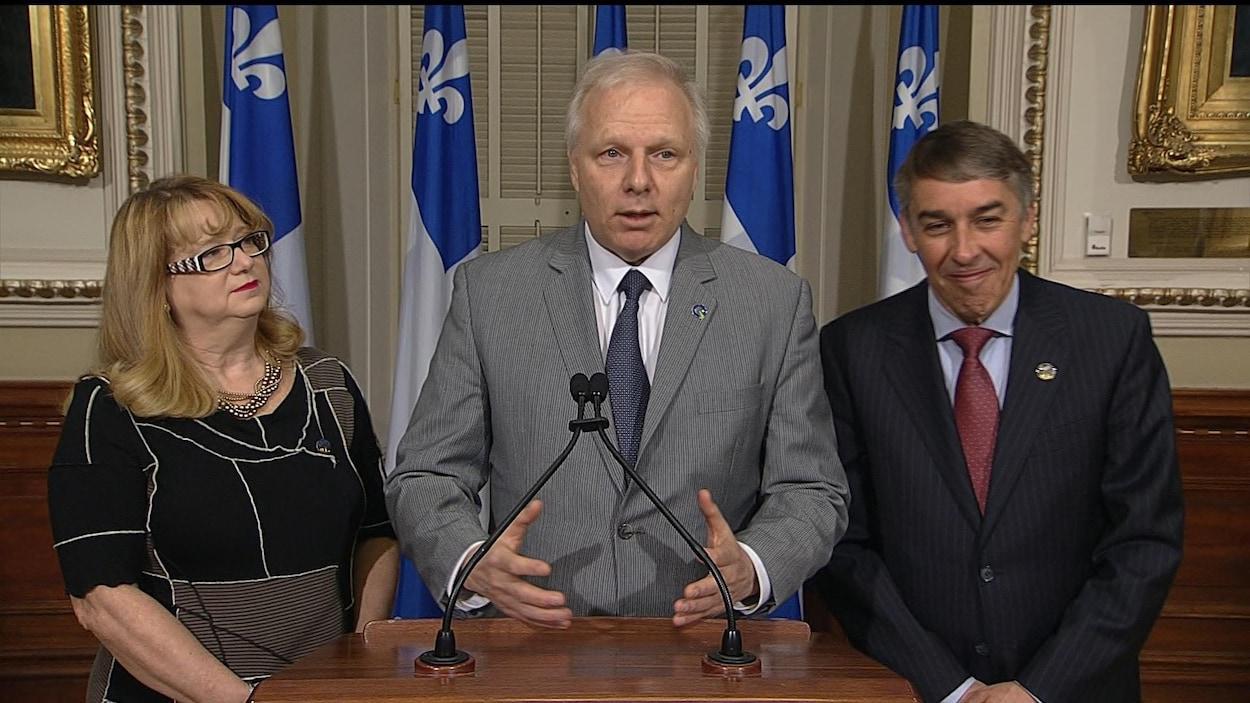 Le chef du PQ Jean-François Lisée