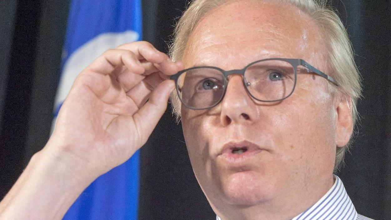 Le chef du Parti québécois Jean-François Lisée.