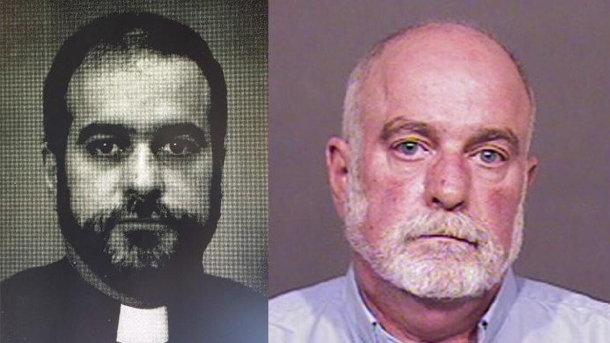 Gordon William Dominey dans les années 1980 et en 2016.
