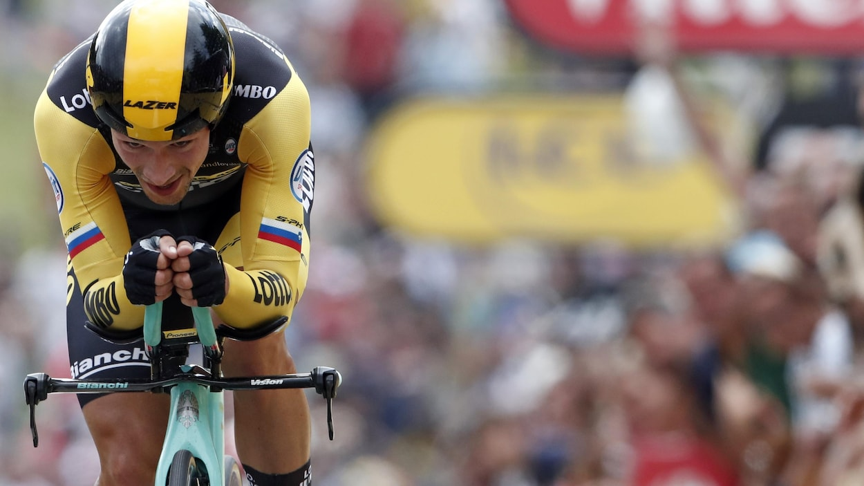 C'est le deuxième succès de Primoz Roglic au Giro 2019.