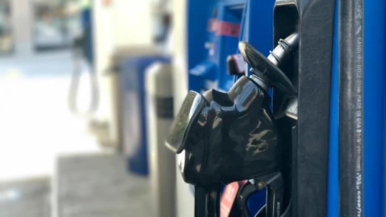 Une pompe à essence
